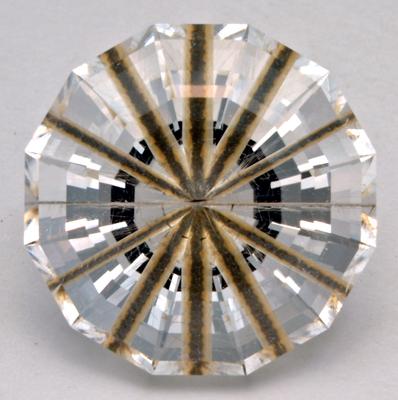 centered rutile needle