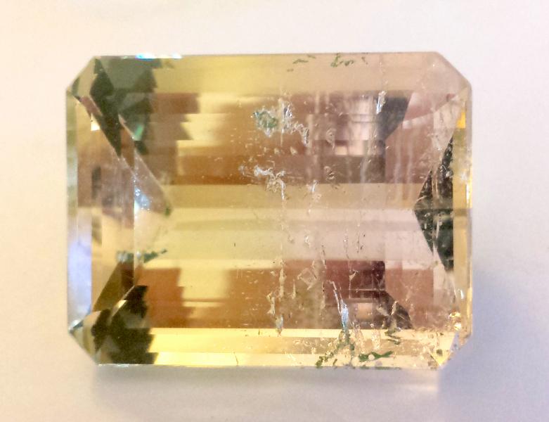 tucson gem show Bicolor Beryl