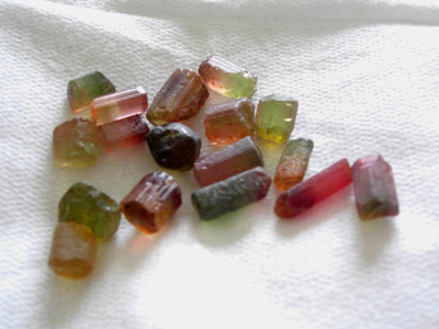 rough gems for faceting