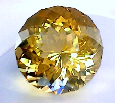 giant faceted gem