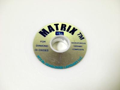 Matrix Polishing Lap - The International Faceting Academy
