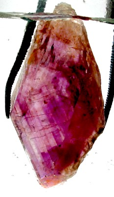 faceting rough amethyst