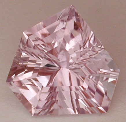 faceted kunzite