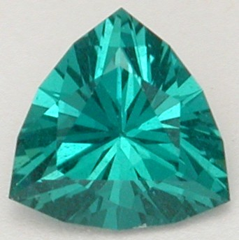trilliant cut apatite gem