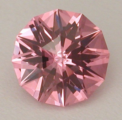 faceted tunduru spinel pink