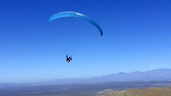tucson paragliding trip