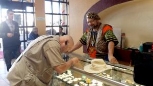 Tucson gem show Mark Stephan