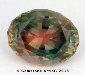 rare watermelon sunstone