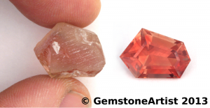 oregon sunstone cutting