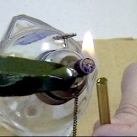 faceting transfer with wax