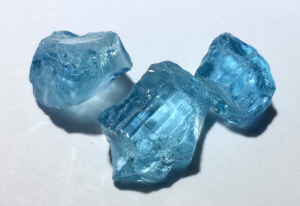 tucson gem show facet rough aquamarine