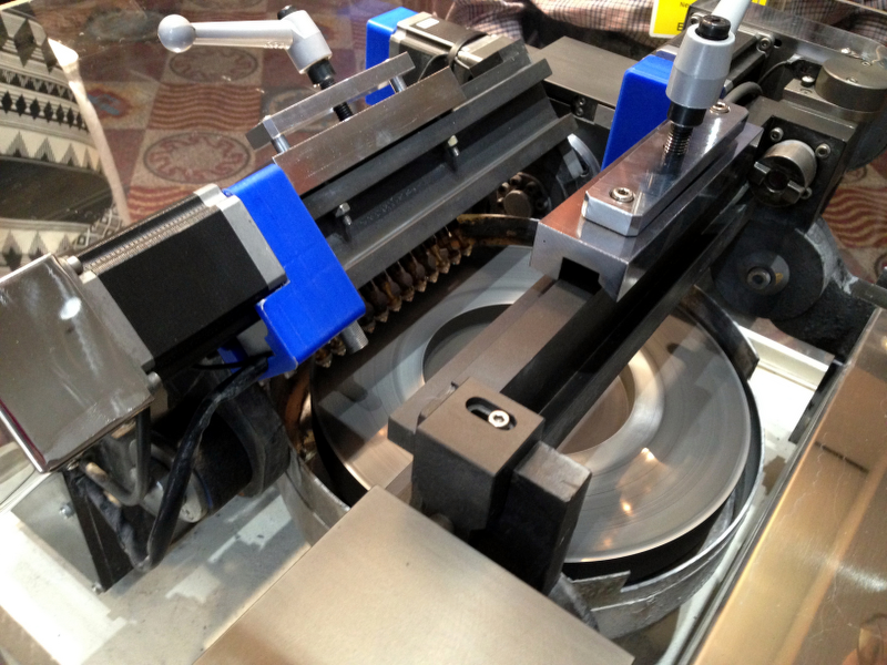 automatic faceting machine