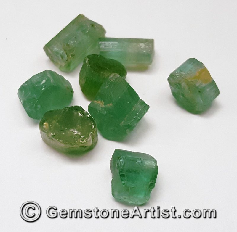 rough tourmaline