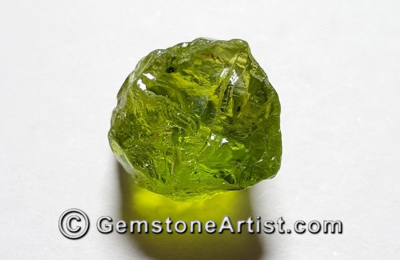 arizona peridot faceting rough