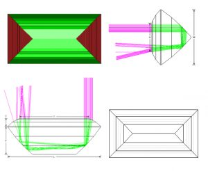 tourmaline step cut design